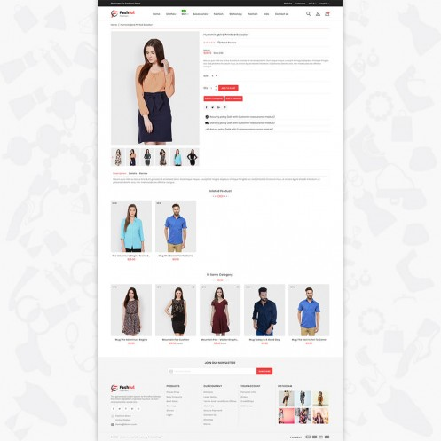 Fashful-The Best Fashion PrestaShop Theme
