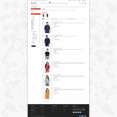 Femista The Fashion PrestaShop Theme
