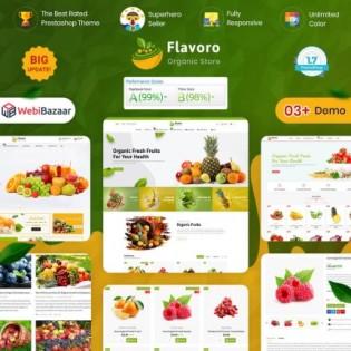 Flavoro The Best Organic PrestaShop Theme