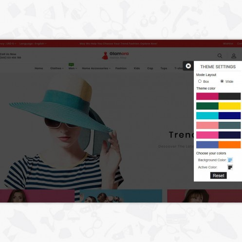 Glamora - Fashion PrestaShop Theme