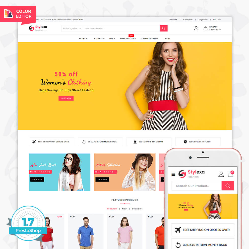 Stylexa - The Fashion Store Template