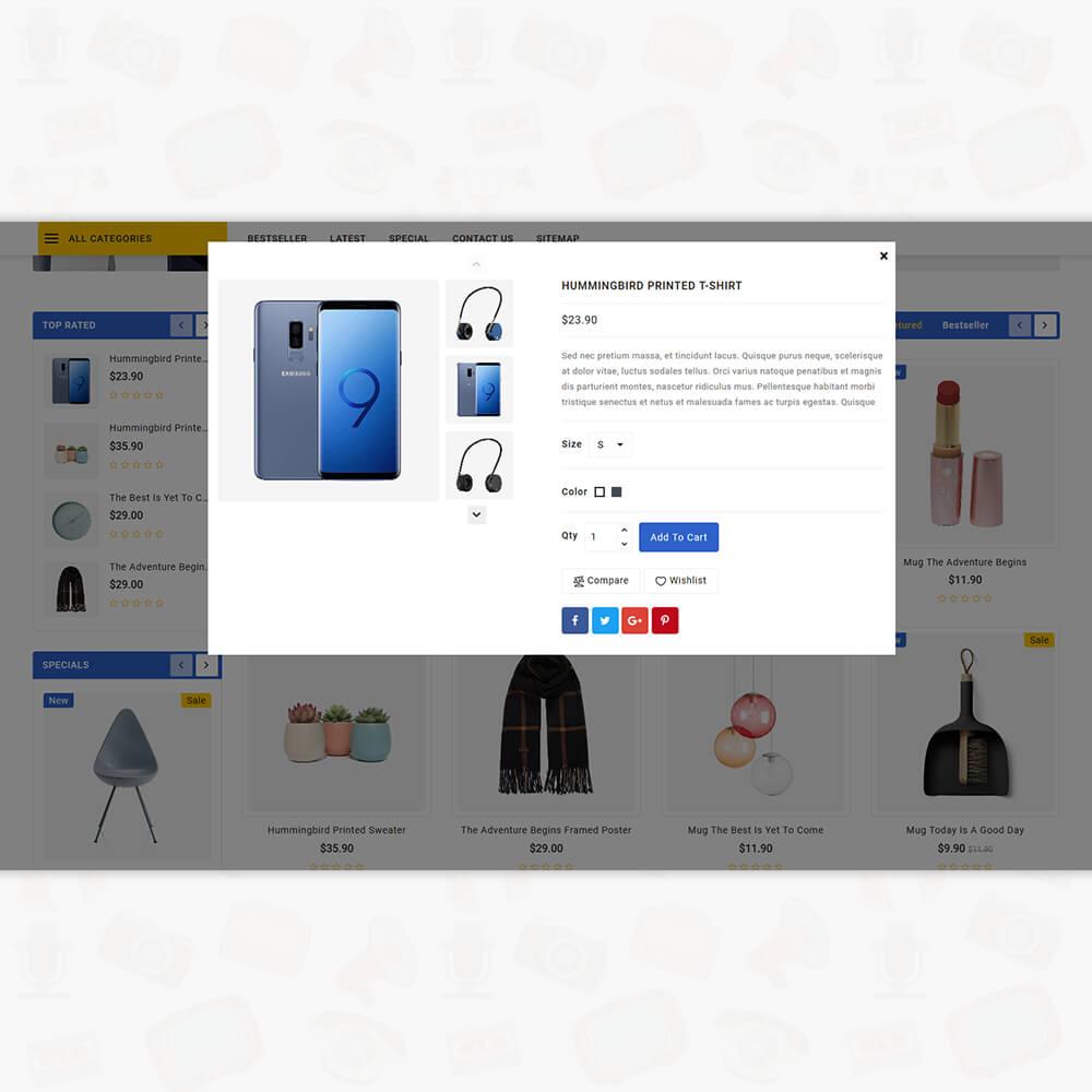 Trandnix - Electronics Store Template