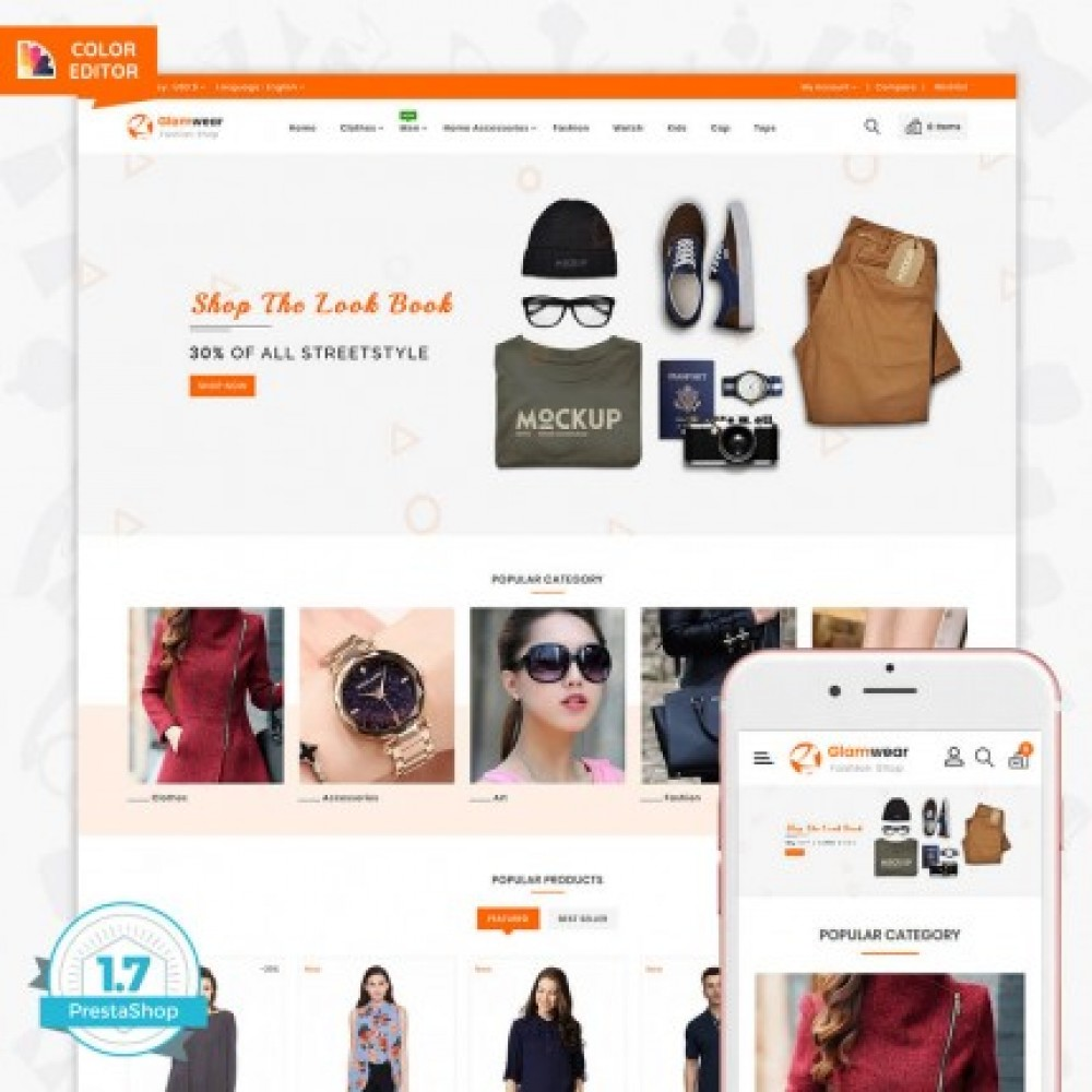 ed12c8565d70a Glamwear The Best Fashion Store Template