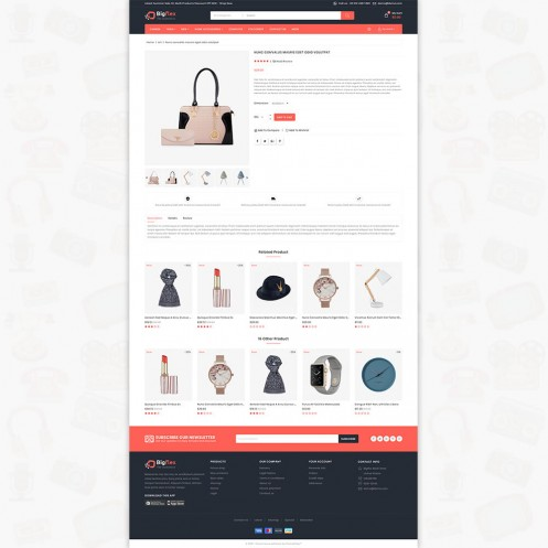 BigFlex - The MultiStore PrestaShop Theme