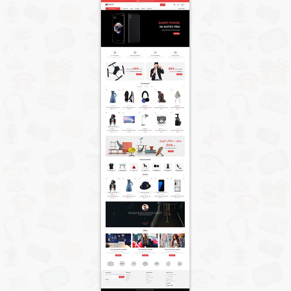 Flowmart The Best MultiStore Template
