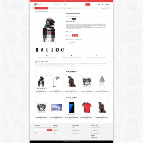 Flowmart The Best MultiStore PrestaShop Theme