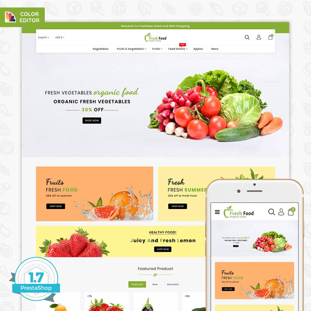Freshfood The Best Organic Food Template