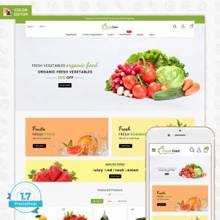 Freshfood The Best Organic Food PrestaShop Theme