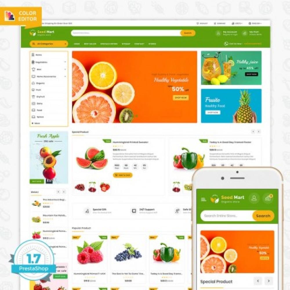 SeedMart - The Oraganic Store Template