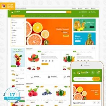 SeedMart - The Organic Food PrestaShop Theme