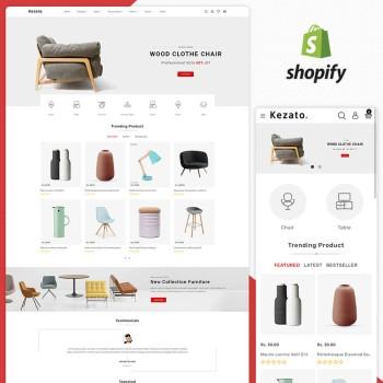 Kezato - The Furniture Shopify Theme