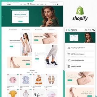 Fazena Fashion Responsive Shopify Theme
