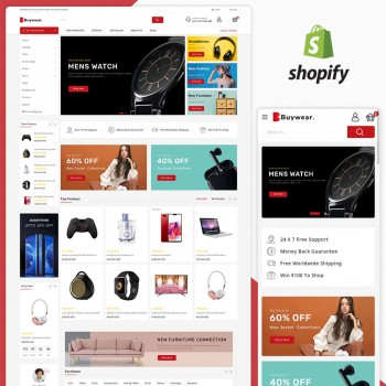 Buywear MultiPurpose Responsive Shopify Theme