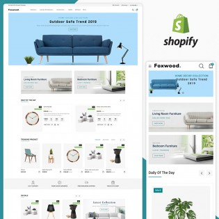 Foxwood- The Furniture Shopify Theme