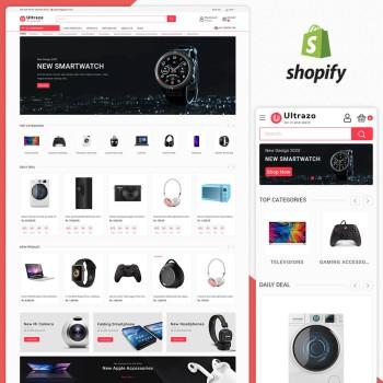 Ultrazo - Electronics Shopify Theme