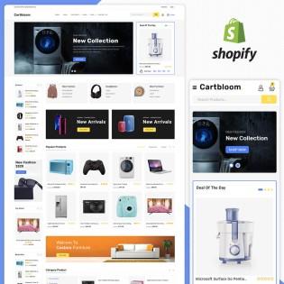 Cartbloom MultiPurpose Responsive Shopify Theme