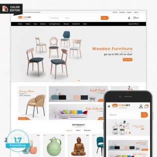Furnishy - The Furniture PrestaShop  Theme