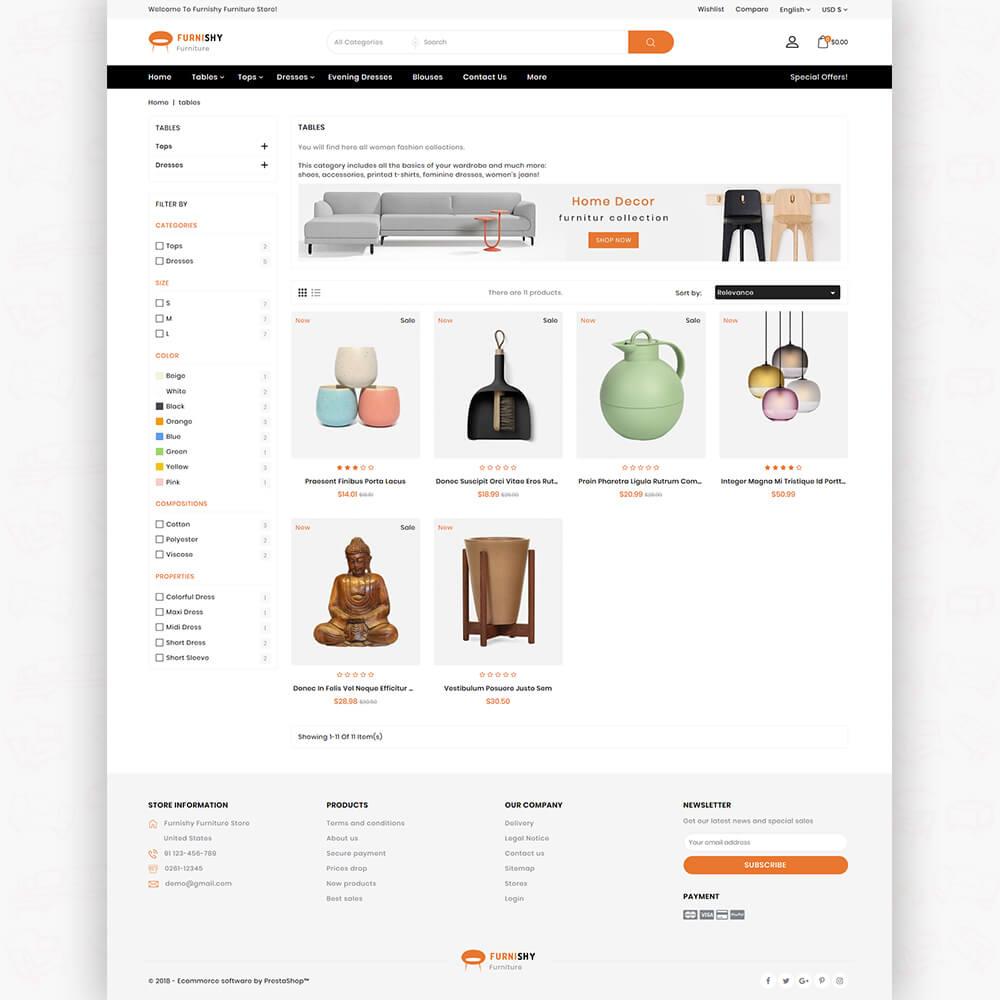 Furnishy - The Furniture Store Templatea