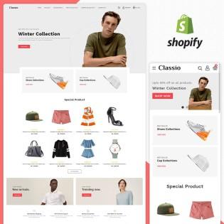 Classio Fashion Responsive Shopify Theme