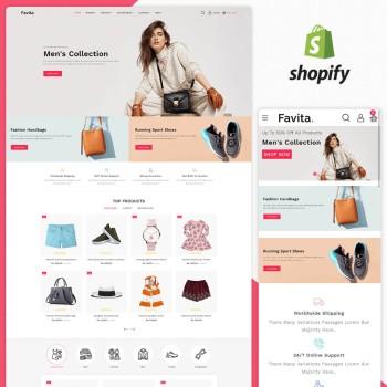 Favita Fashion Responsive Shopify Theme