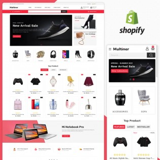 Multiner MultiPurpose Responsive Shopify Theme