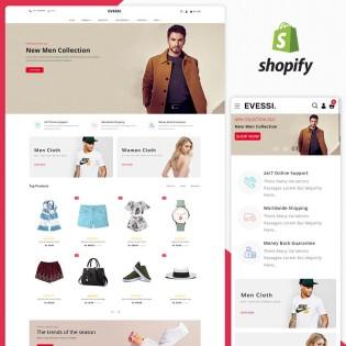 Evessi Fashion Responsive Shopify Theme
