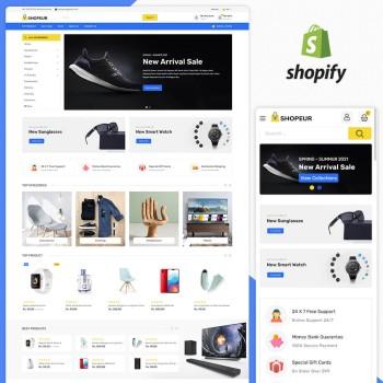 Shopeur MultiPurpose Responsive Shopify Theme