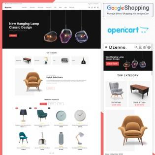 Dzenno - The Furniture Opencart Theme