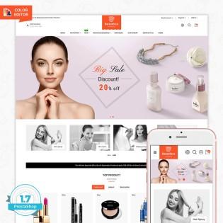 Beautica - The Cosmetic PrestaShop Theme