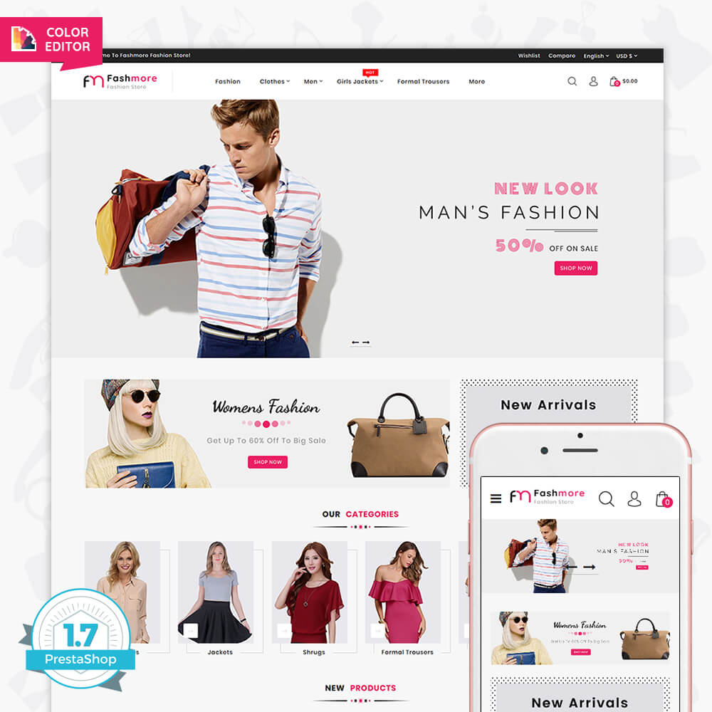 Fashmore The Best Fashion Store Template