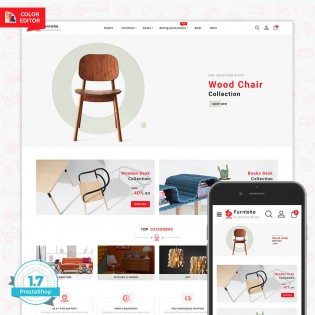 Furnisho The Best Furniture PrestaShop Theme