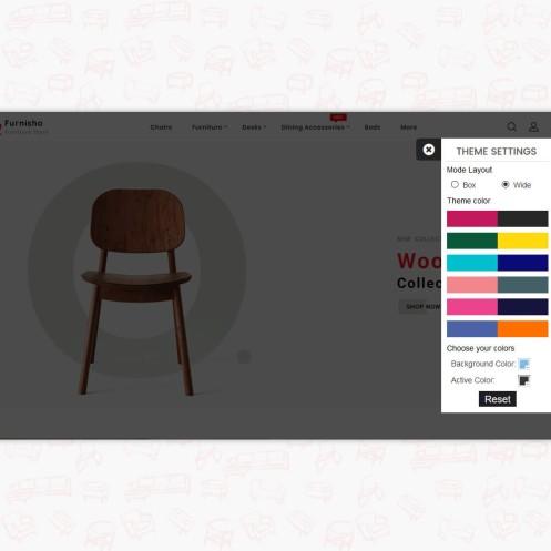 Furnisho The Best Furniture PrestaShop Theme