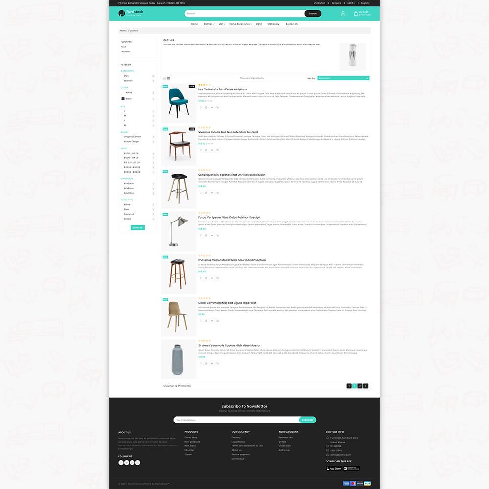 furnidesk - The Best Furniture Store Template