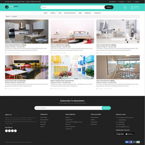 FurniStock - The Furniture PrestaShop Theme