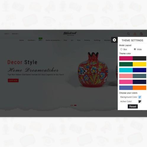HandCreat - The Handy PrestaShop Theme