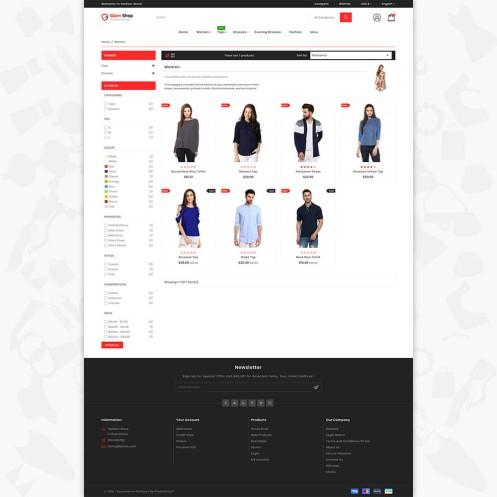 GlamShop - The Fashion PrestaShop Theme