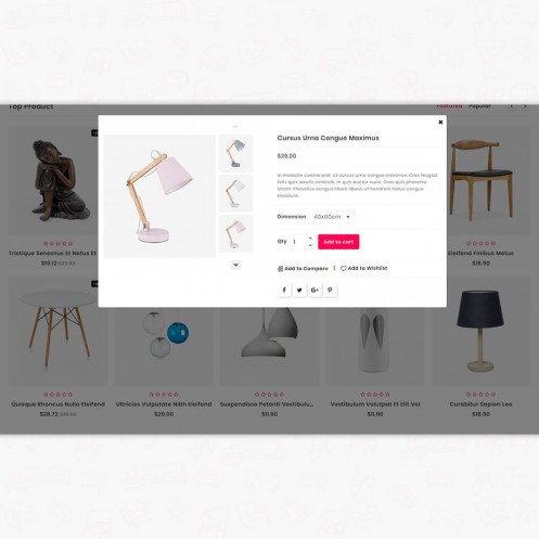 Interia - The Furniture PrestaShop Theme