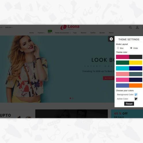 Leona - The Fashion PrestaShop Template