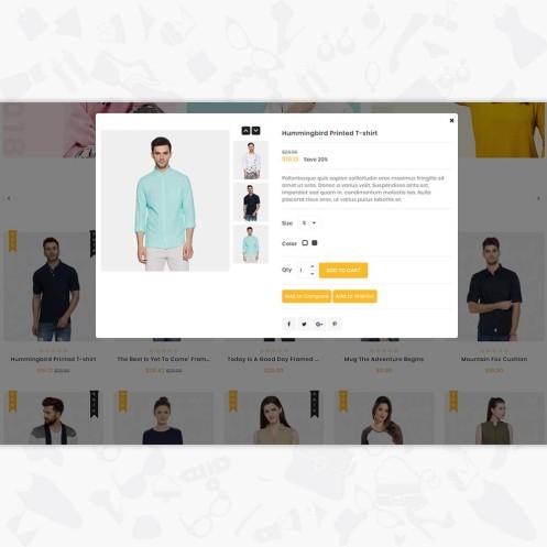 HotLook - The Fashion PrestaShop Theme
