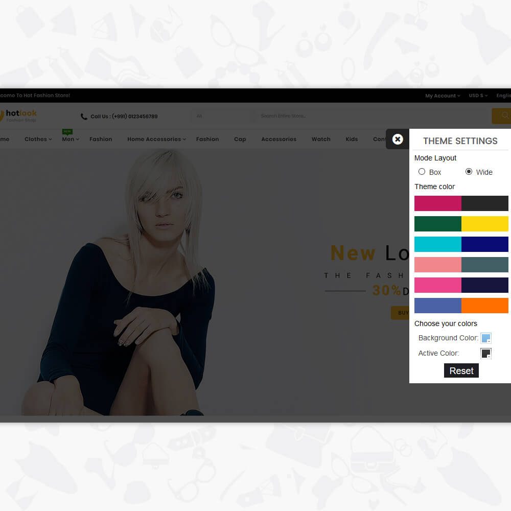 HotLook - The Fashion Shop Template