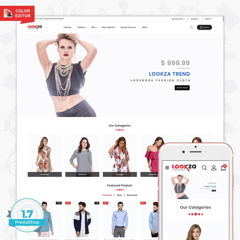 LookZa - The Fashion Shop Template