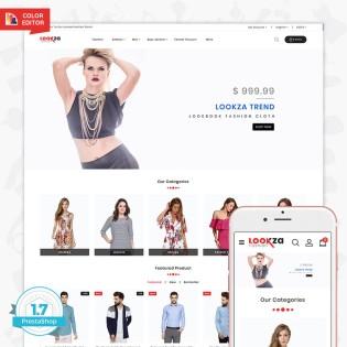 LookZa - The Fashion PrestaShop Theme