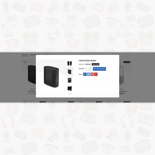 Electron - The Best Electronics PrestaShop Theme