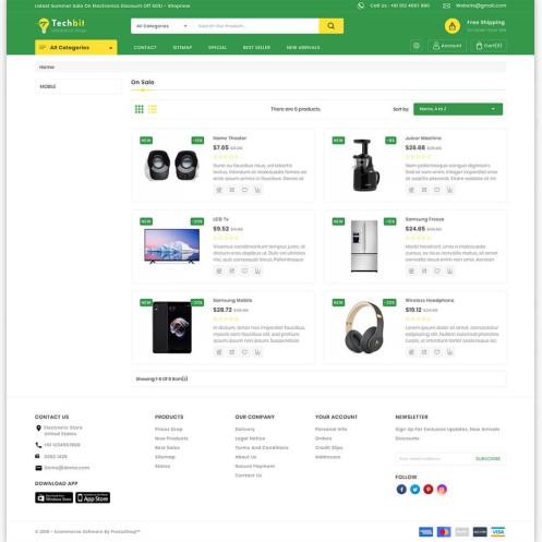 TechBit - The Electronics And Computer PrestaShop Theme