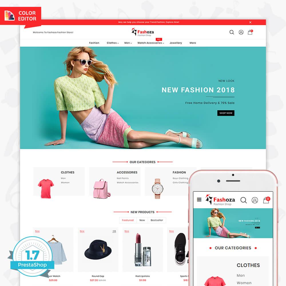 Fashoza - The Fashion Store Template