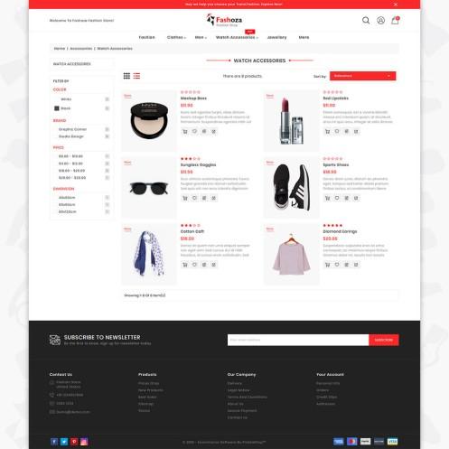 Fashoza - The Fashion PrestaShop Theme