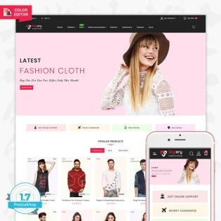 Stylery - The Fashion PrestaShop Theme