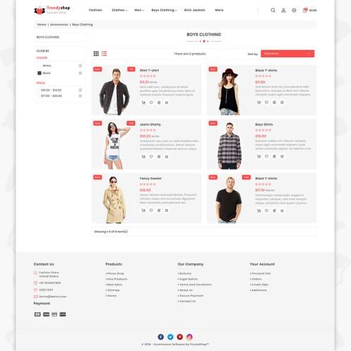 Trendyshop - The Fashion PrestaShop Theme