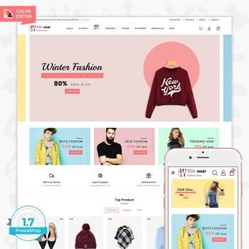 SlimWear - The Fashion PrestaShop Theme