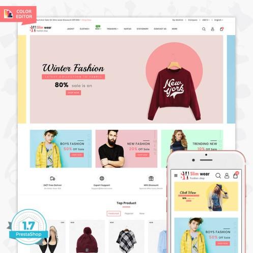 SlimWear - The Fashion Store Template